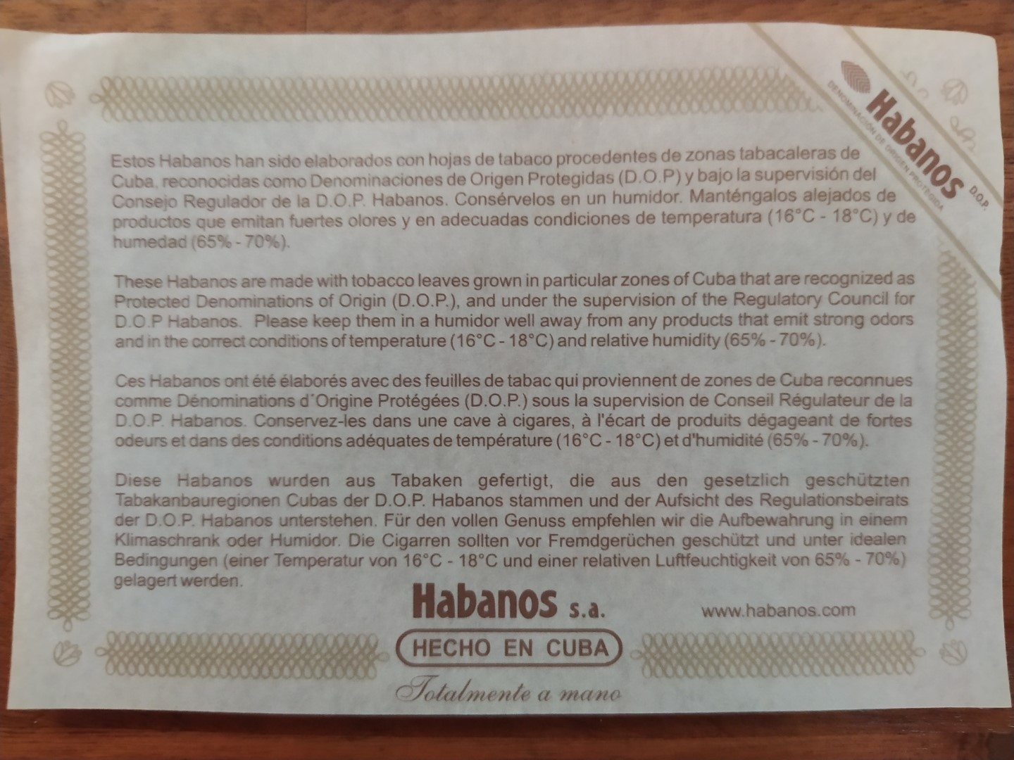 habanos-etiquette-conservation-cigares