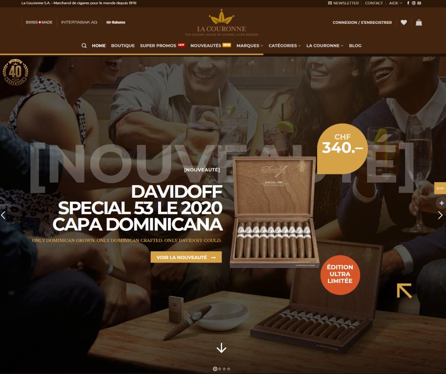 acheter des cigares en ligne sur cigarpassion.ch